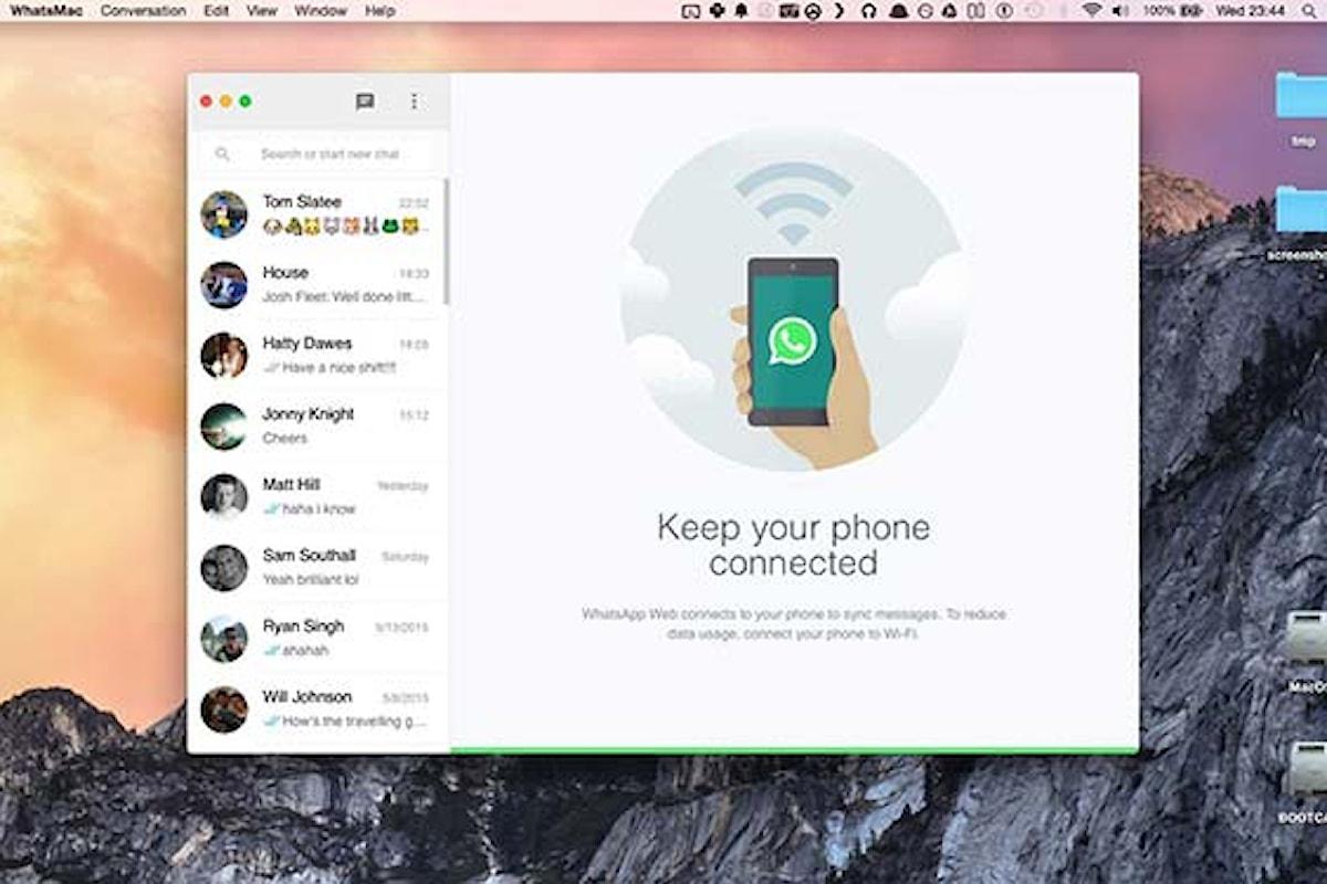 Come utilizzare WhatsApp sul Mac