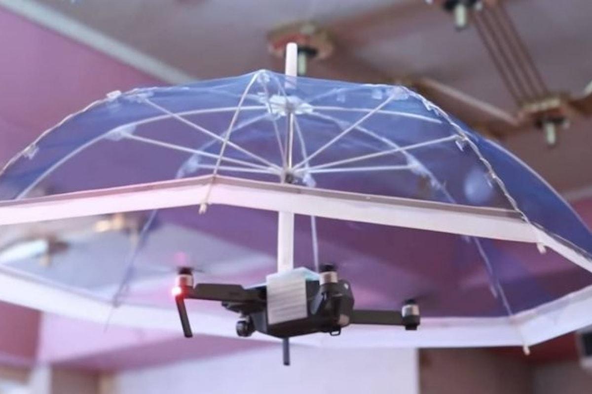 Free parasol: l'ombrello drone che ti segue passo per passo