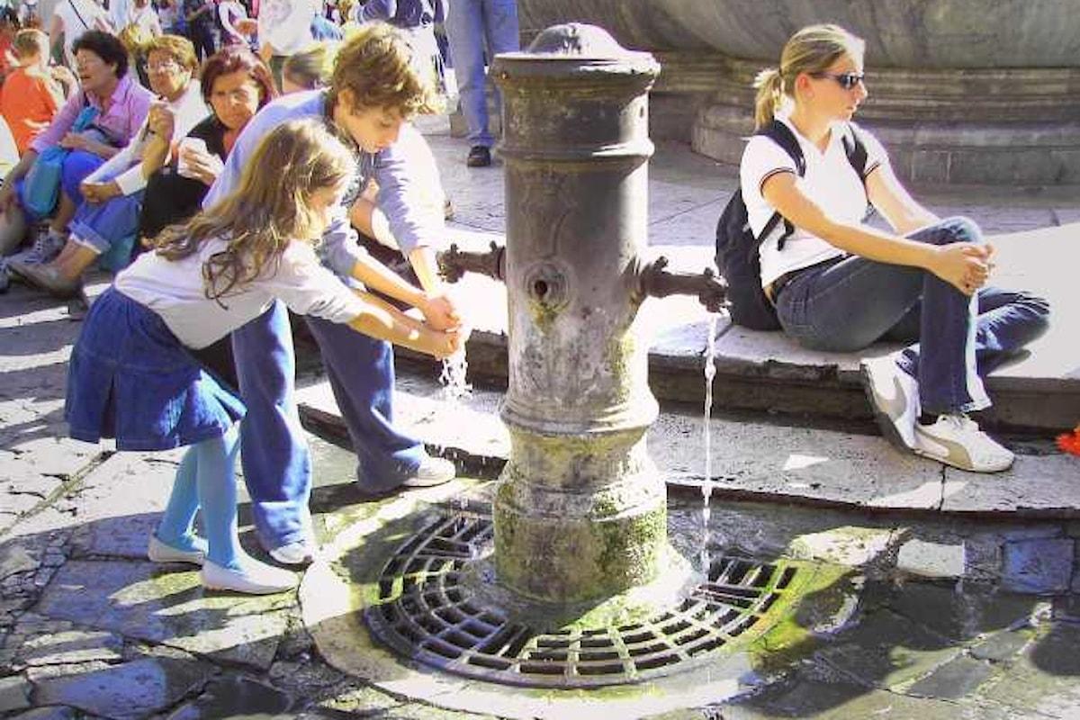 Roma non rimarrà senz'acqua. Scongiurato il pericolo turnazioni