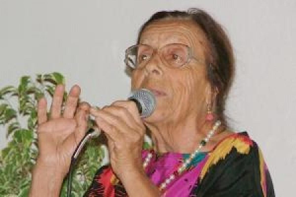 Orgoglio Italiano, si è spenta la poetessa Maria Costa. Il suo nome era stato iscritto nel Patrimonio dell'unesco