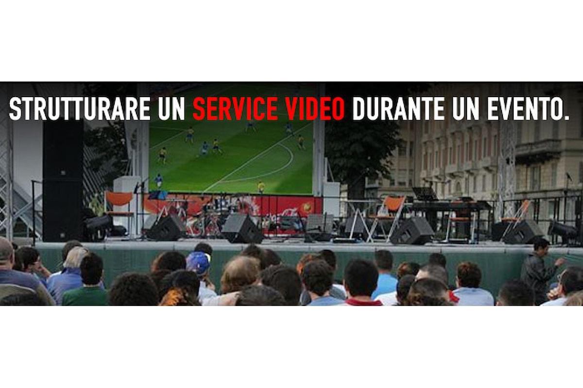 Eventi all'esterno? La qualità dei service video
