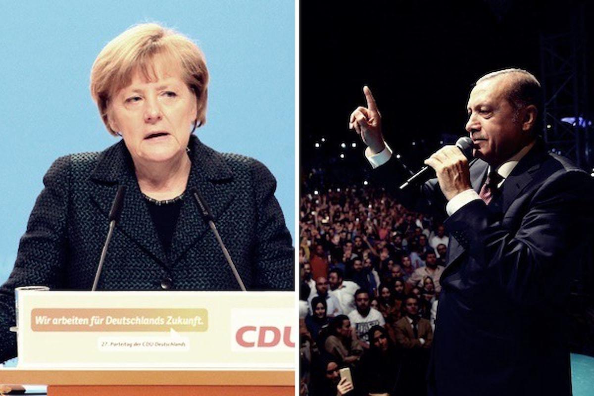 Germania, la replica del governo alle accuse di nazismo elaborate da Erdogan