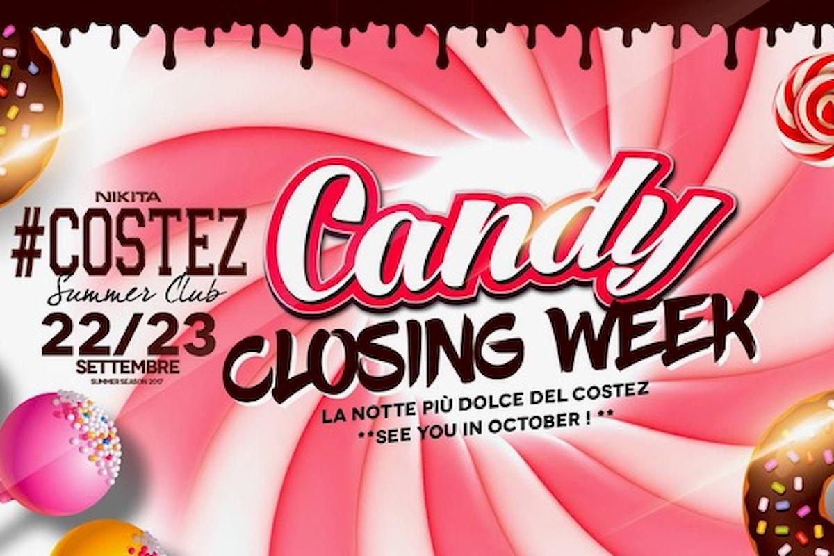 Nikita #Costez di Grumello - Telgate (BG), il 22-23 settembre Candy Closing Week