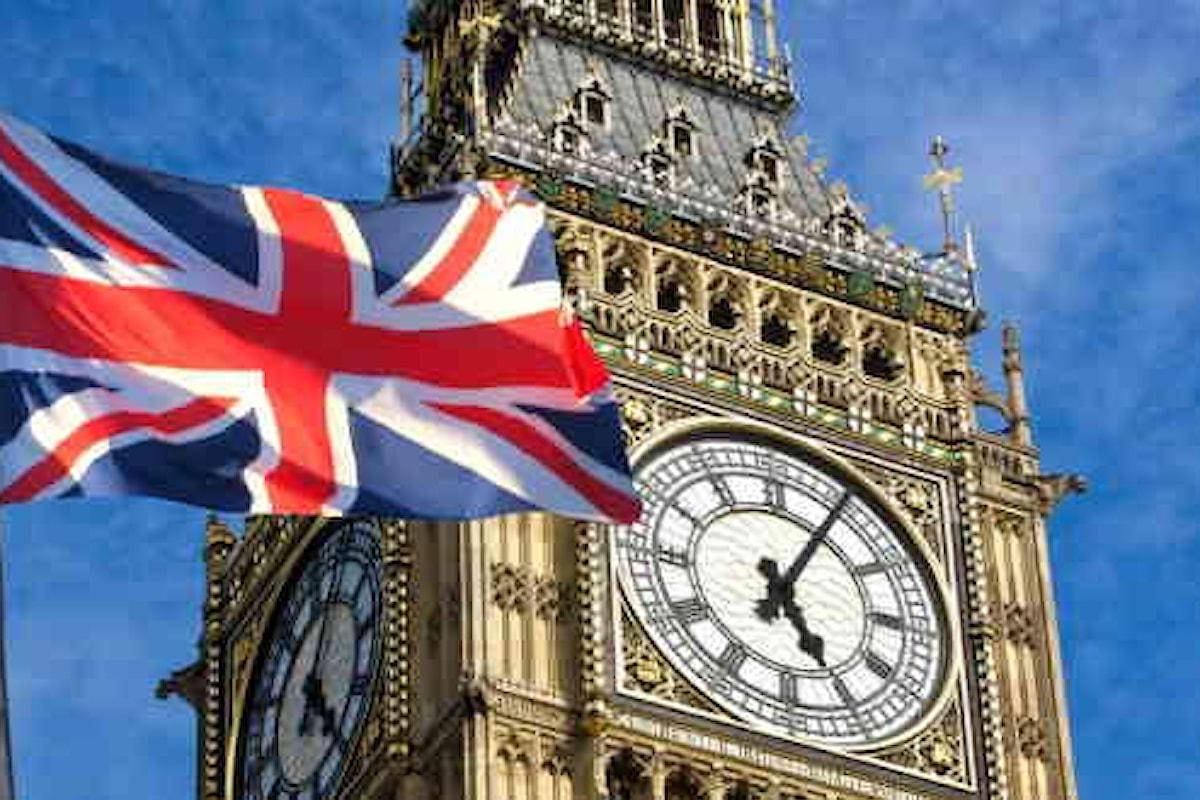 Regno Unito, cresce l'inflazione. Sterlina tonica sui mercati