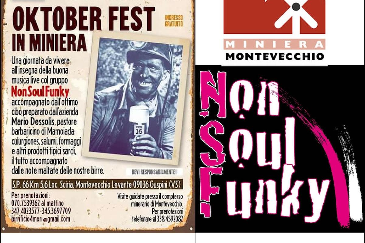Una Oktoberfest alternativa in Sardegna, nella miniera di Montevecchio