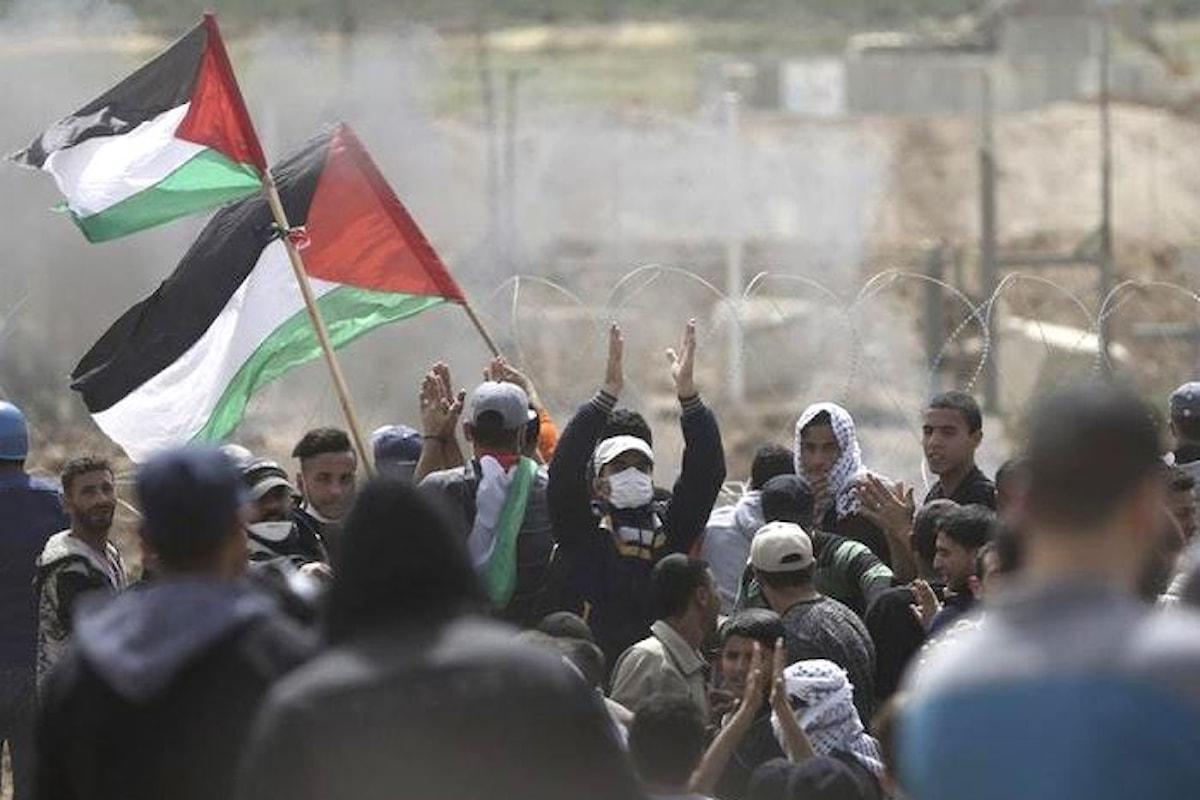 A Gaza il terzo venerdì di protesta al confine con Israele