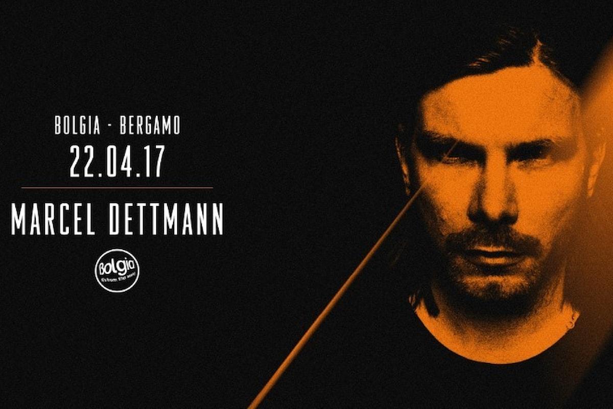 22/04 Marcel Dettmann @ Bolgia Bergamo