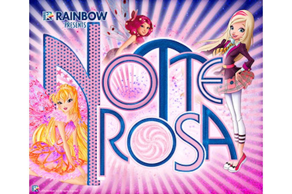 Notte rosa a Castel Sismondo: tre notti di magia per bambini a ingresso gratuito con Mia and me e le Winx