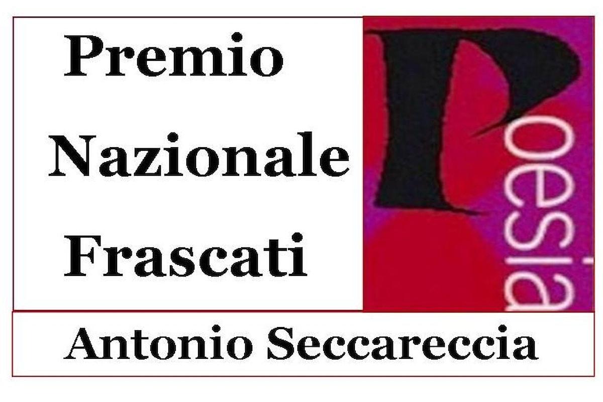 58.ma Edizione Premio Nazionale Frascati Poesia Antonio Seccareccia