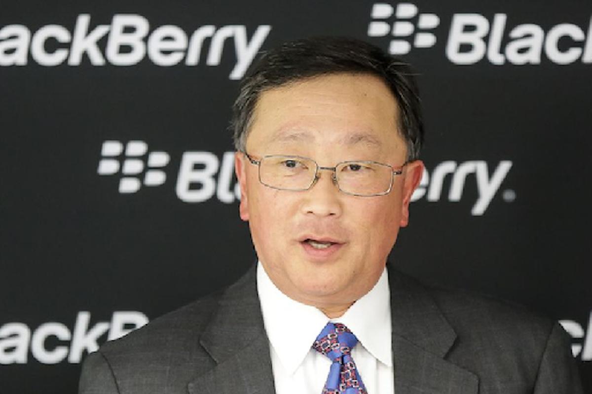 BlackBerry: le azioni crescono del 66% nel 2017