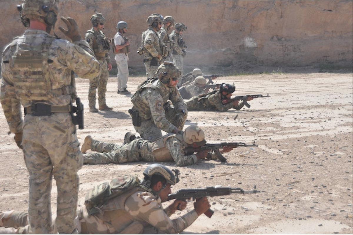 Iraq, militari italiani concludono con successo l'addestramento di 338 militari iracheni