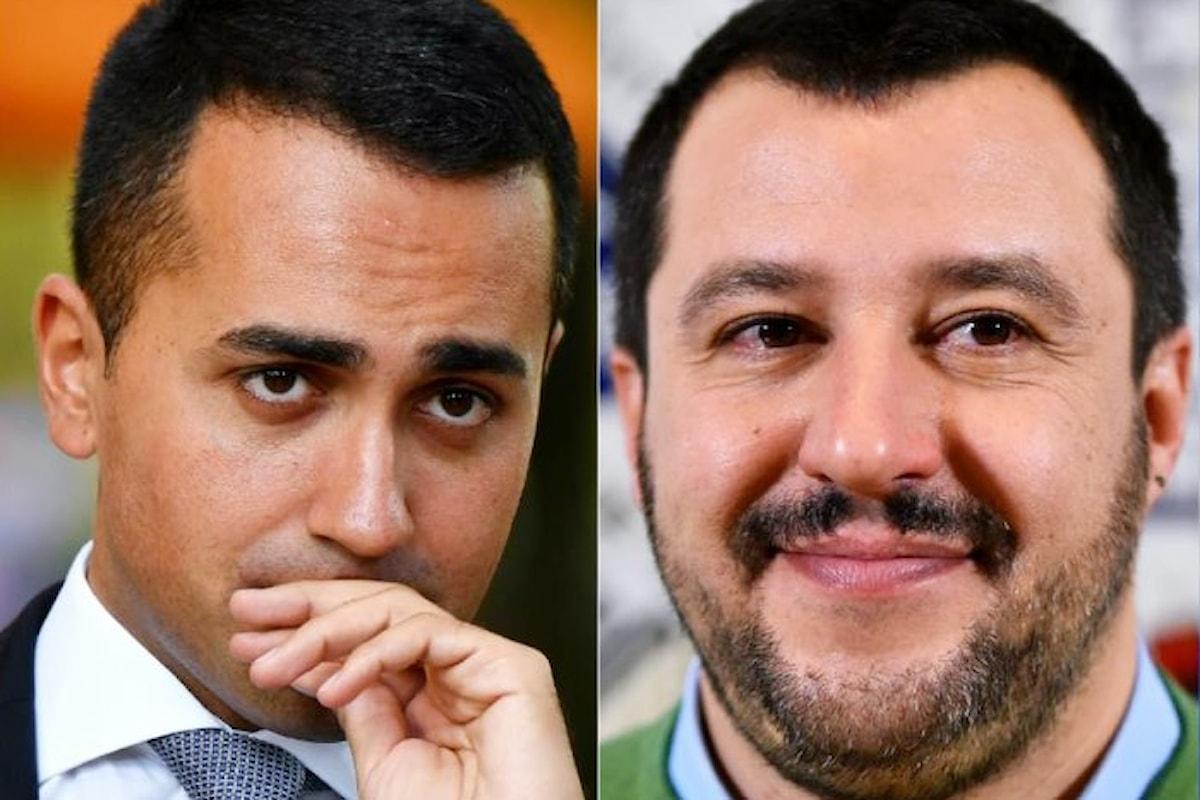 Il primo incontro tra Di Maio e Salvini: alla Lega il Senato, ai 5 Stelle la Camera