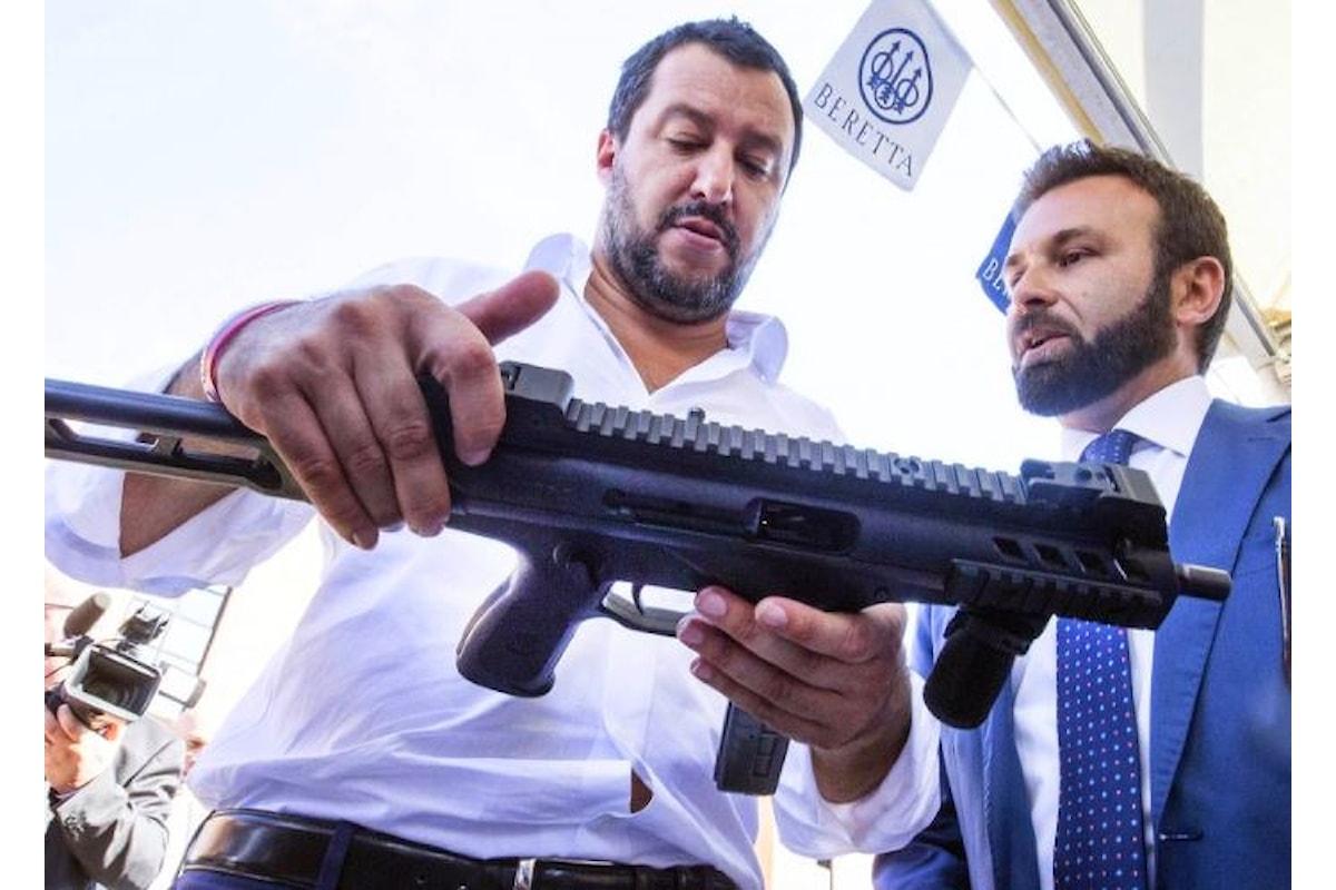 Salvini oggi donerà la sicurezza agli italiani con la complicità dei 5 Stelle