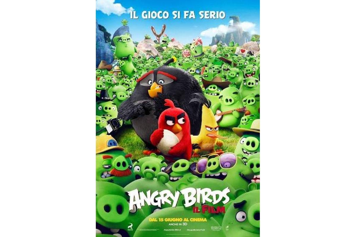 Novità al cinema: arriva ANGRY BIRDS, il rompicapo di Rovio