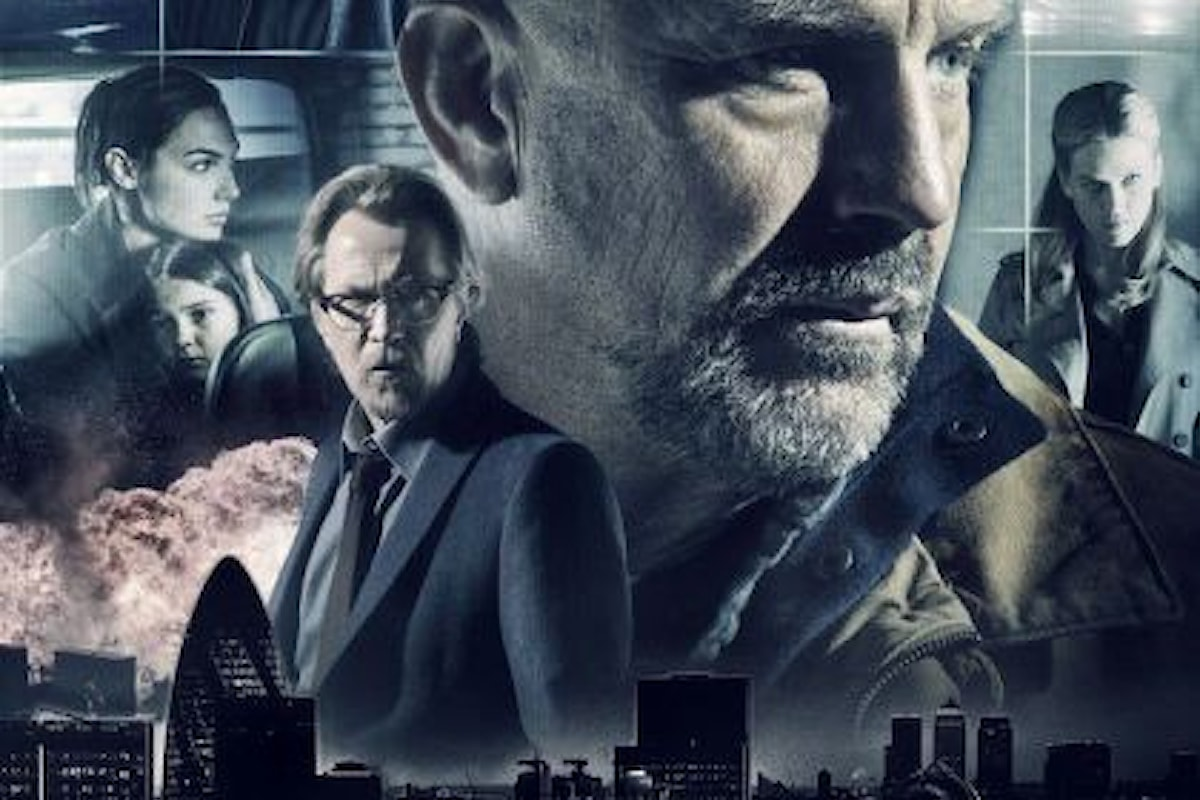 CRIMINAL: il nuovo cyber-thriller con Kevin Costner