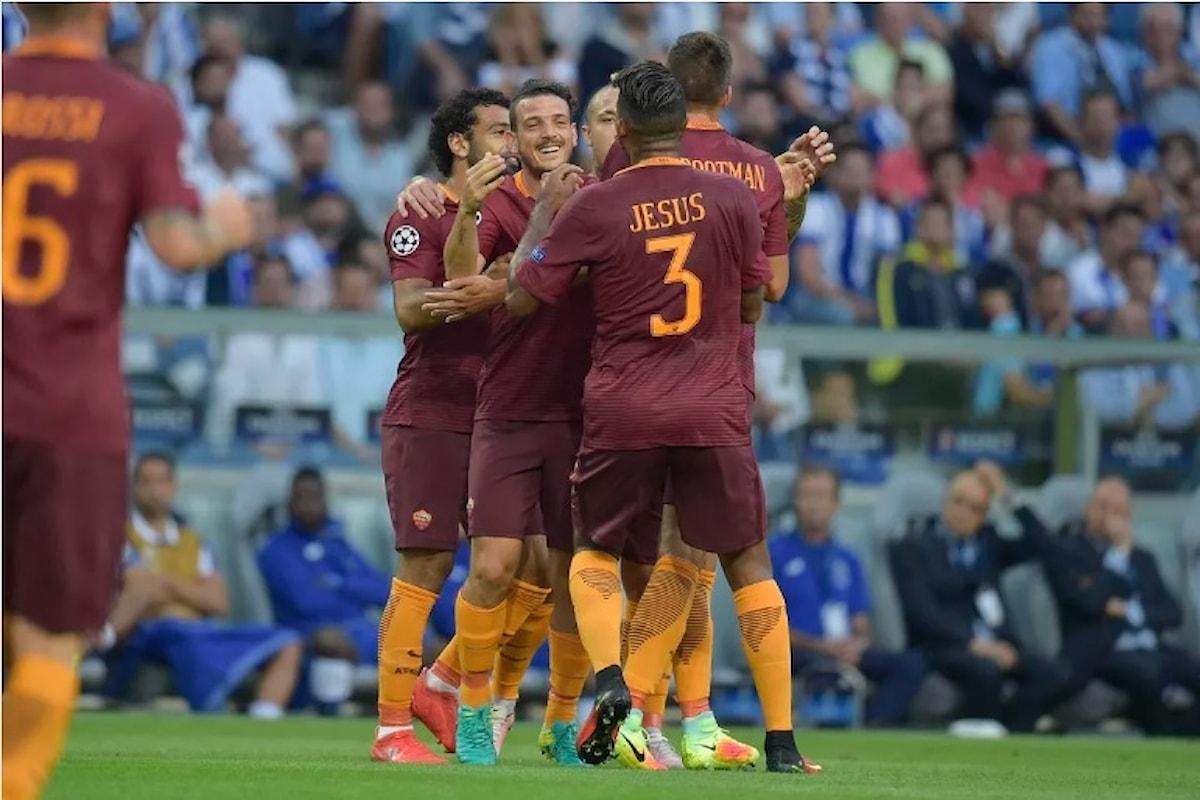 La Roma conquista un buon pareggio per 1-1 con il Porto, martedì il ritorno