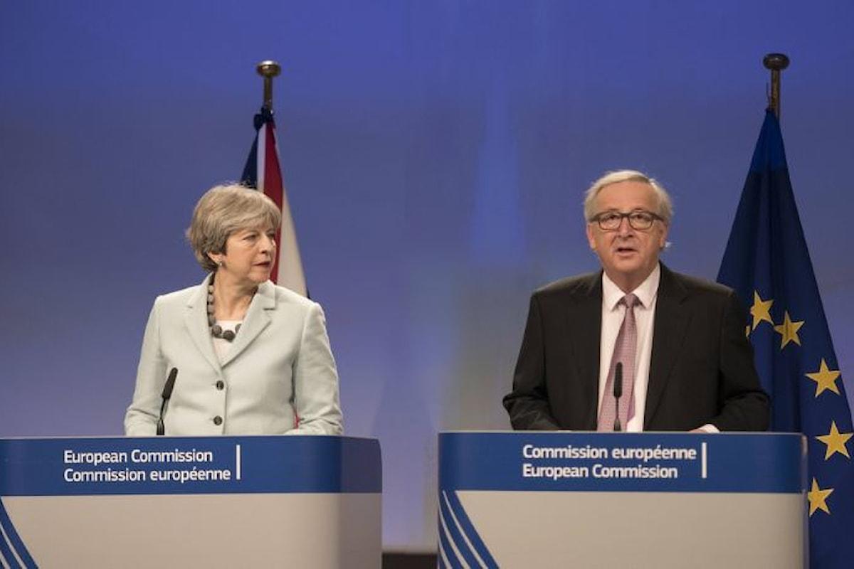 Brexit, nel fine settimana la presentazione del testo dell'accordo