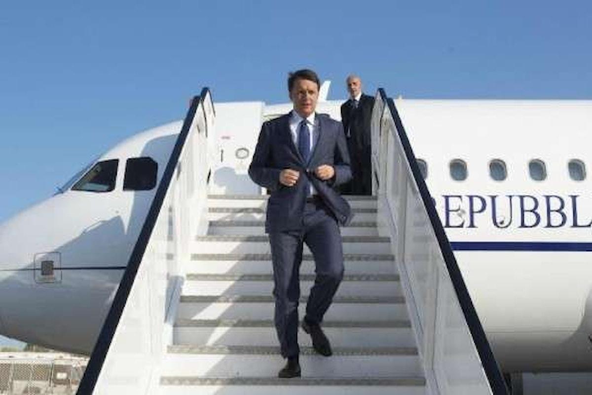 Il Presidente del Consiglio Matteo Renzi in visita negli Stati Uniti fino al 1 aprile