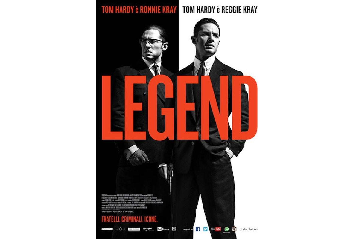 Al cinema: LEGEND Tom Hardy si sdoppia