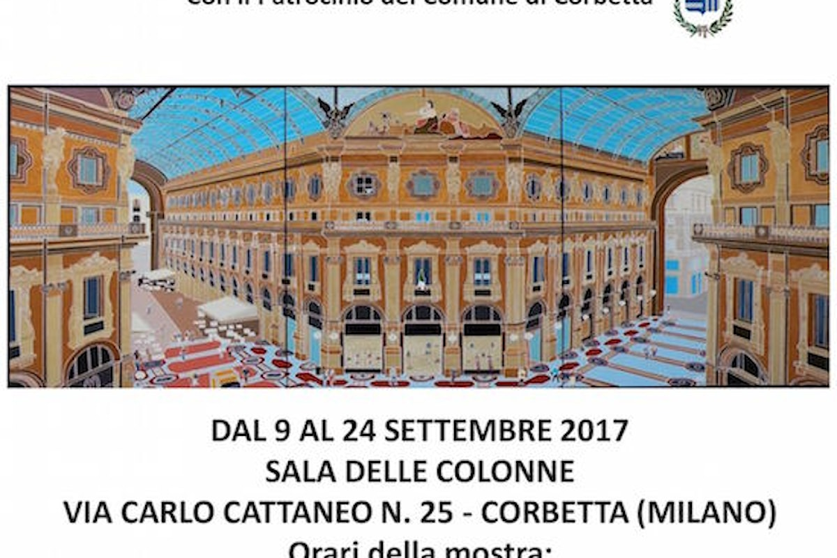 """Mostra Personale di Sandro Borroni """"BLINDATURA DEL COLORE"""""""