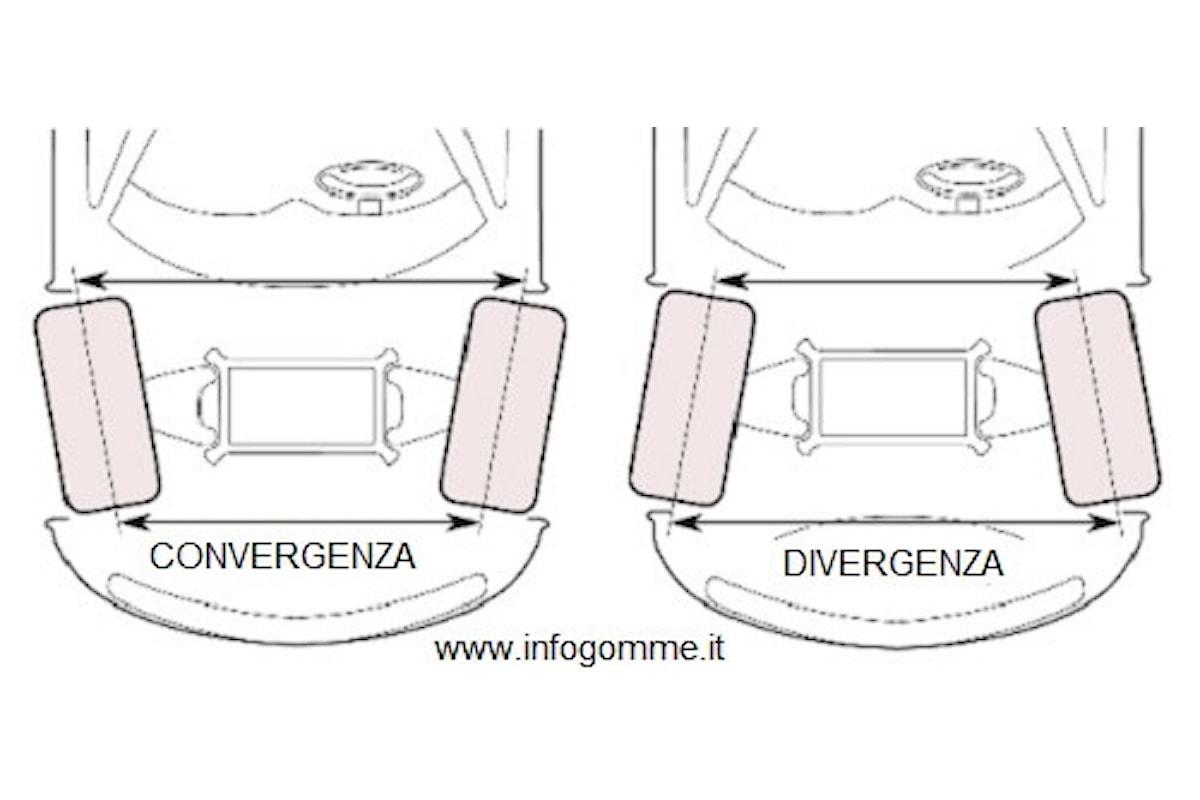 Cosa è la convergenza ruote e a cosa serve