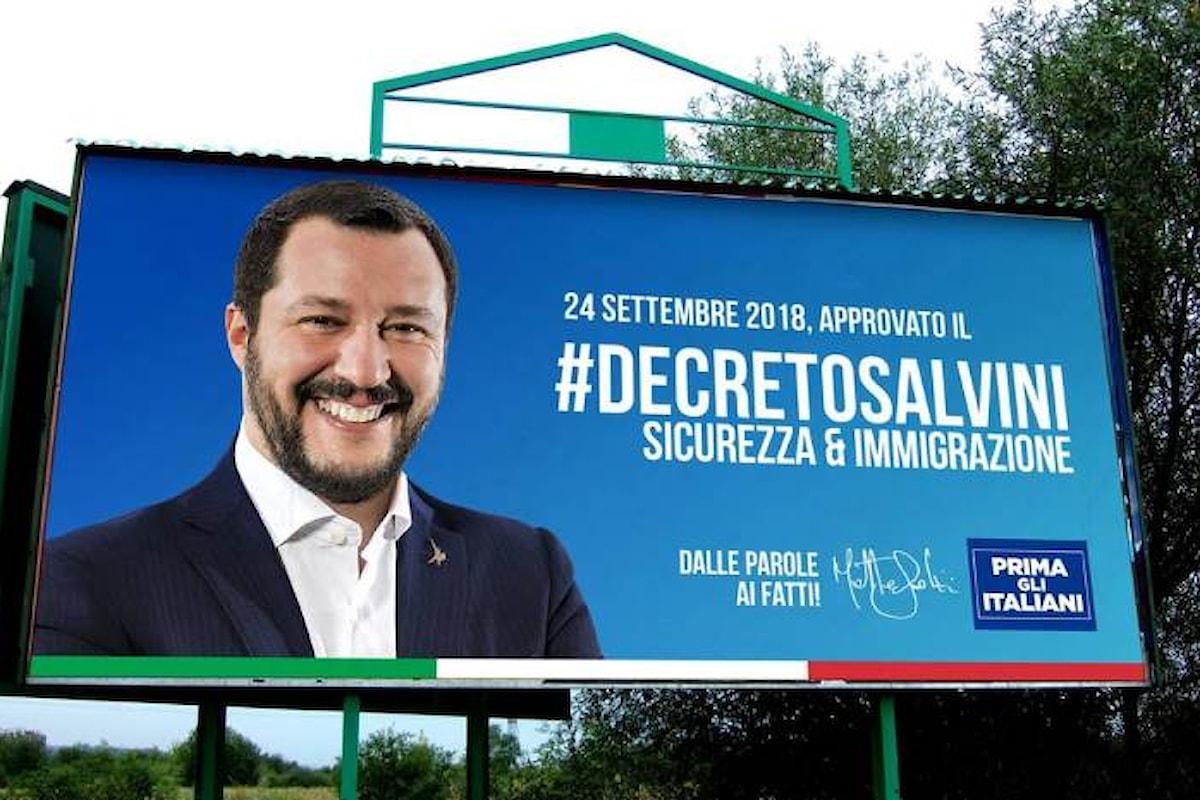Il decreto al contrario di Salvini per peggiorare le condizioni dei richiedenti asilo e per favorire le mafie