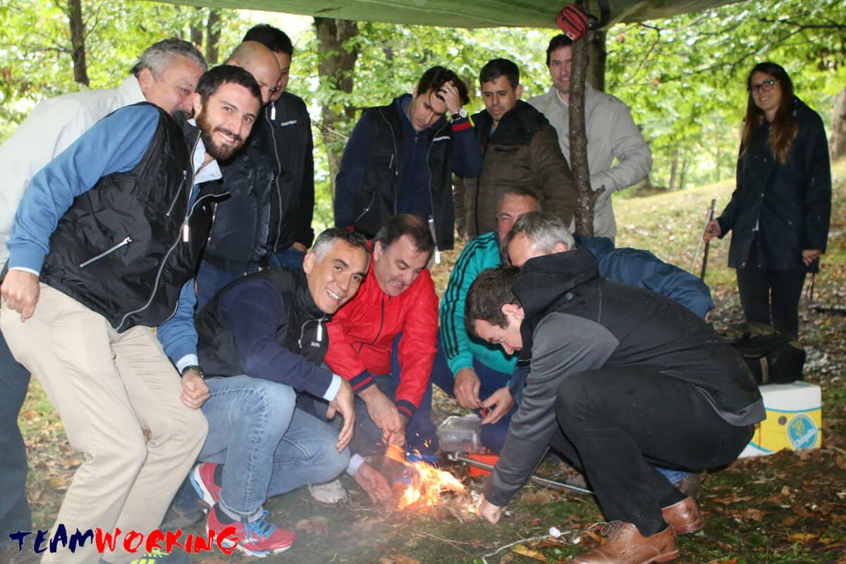 Un Team Building per imparare a sopravvivere nella natura selvaggia
