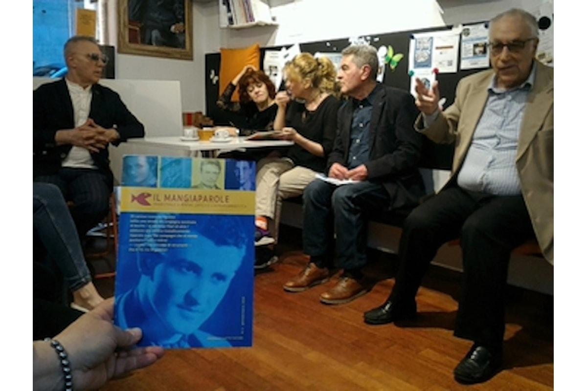 Presentato a Roma il primo numero della rivista trimestrale Il Mangiaparole presso la Libreria Caffè Letterario Mangiaparole