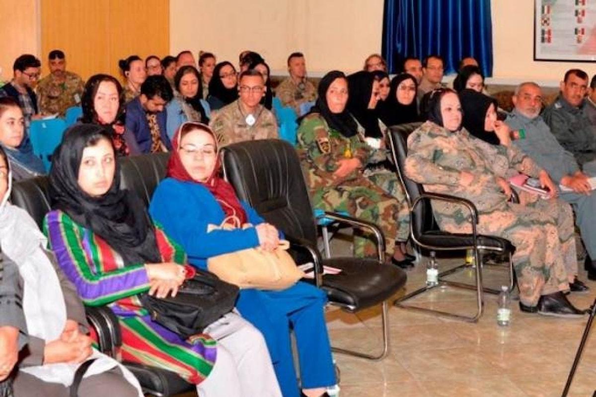 Afghanistan, militari italiani organizzano seminario su integrazione femminile forze di sicurezza afgane