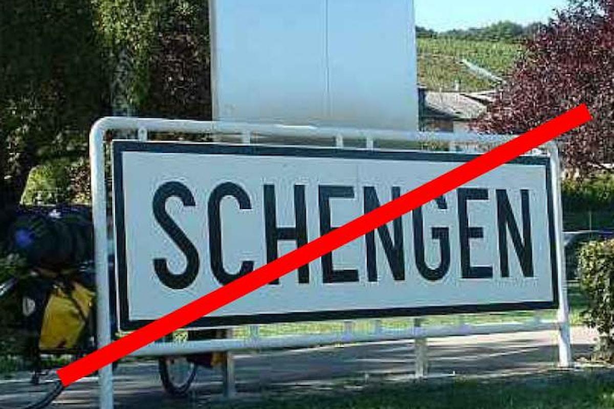 Chiusura frontiere: sospendendo Schengen l'Italia potrebbe perdere ogni anno fino a 10 miliardi