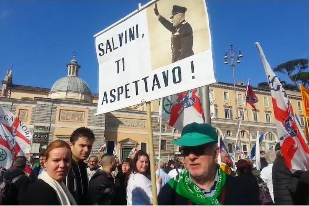 Salvini e l'ebbrezza ministeriale