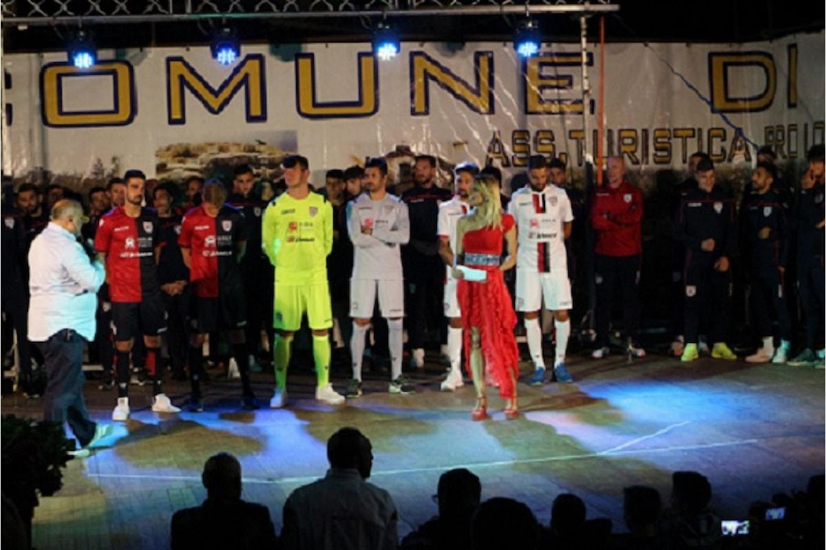 La giornalista Virginia Saba sceglie lo stile esclusivo di Eles Italia per l'evento del Cagliari Calcio ad Aritzo