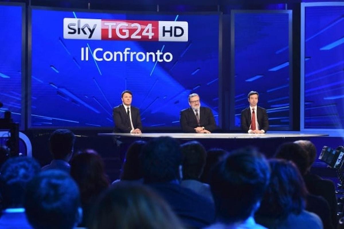 Renzi, Emiliano e Orlando in tv per la corsa alla segreteria del PD