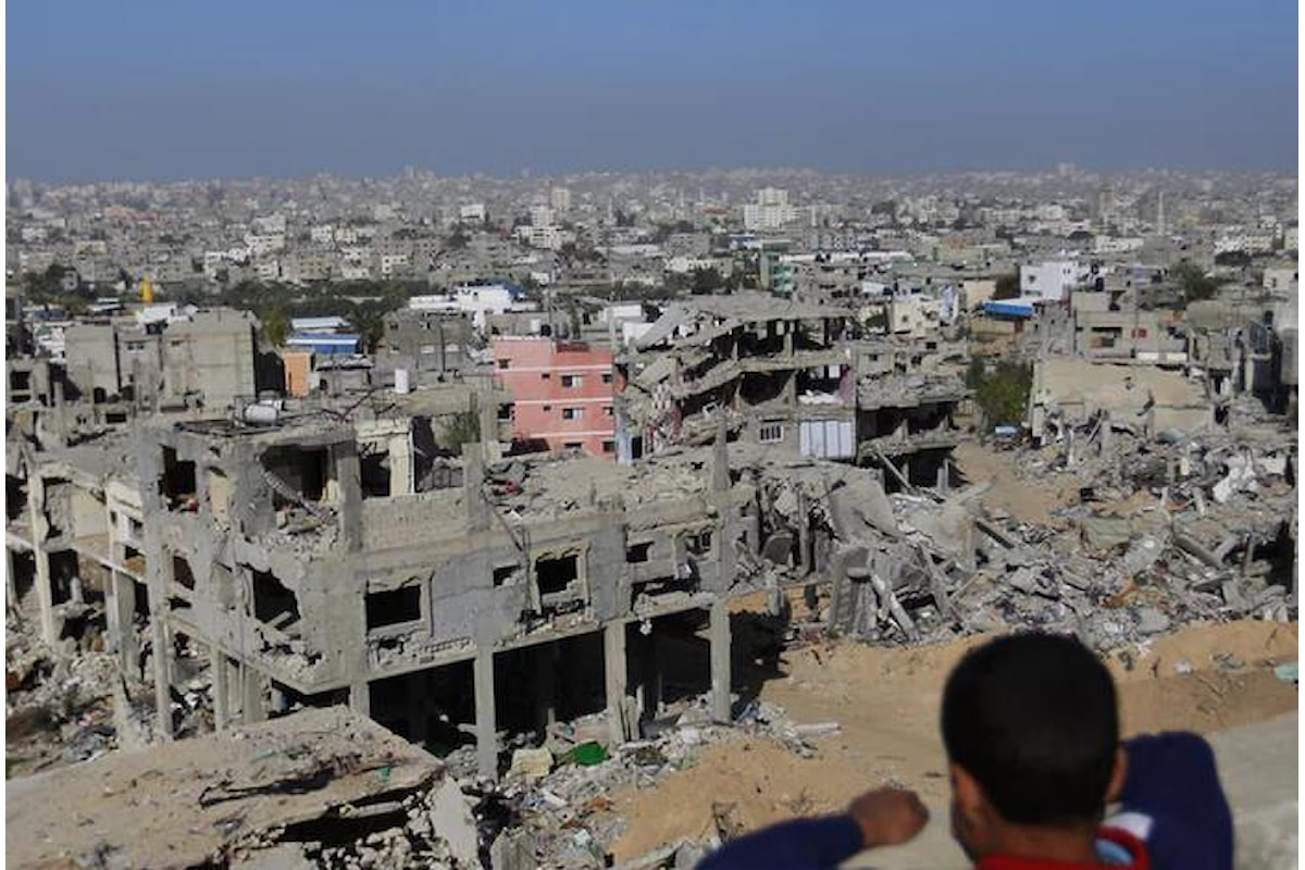 2 febbraio, attacco aereo su Gaza. Niente di nuovo...