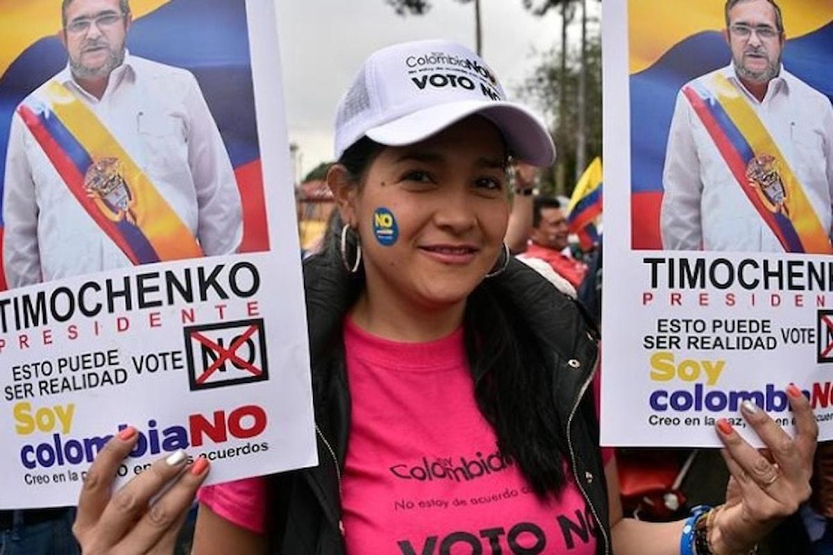 Colombia: referendum respinge l'accordo di pace con i ribelli delle FARC