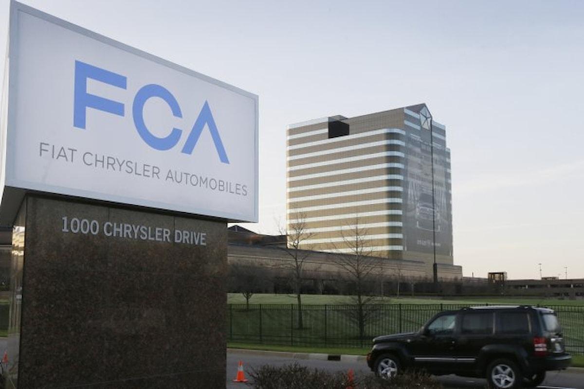 Fiat Chrysler sotto inchiesta da parte della magistratura Usa per frode