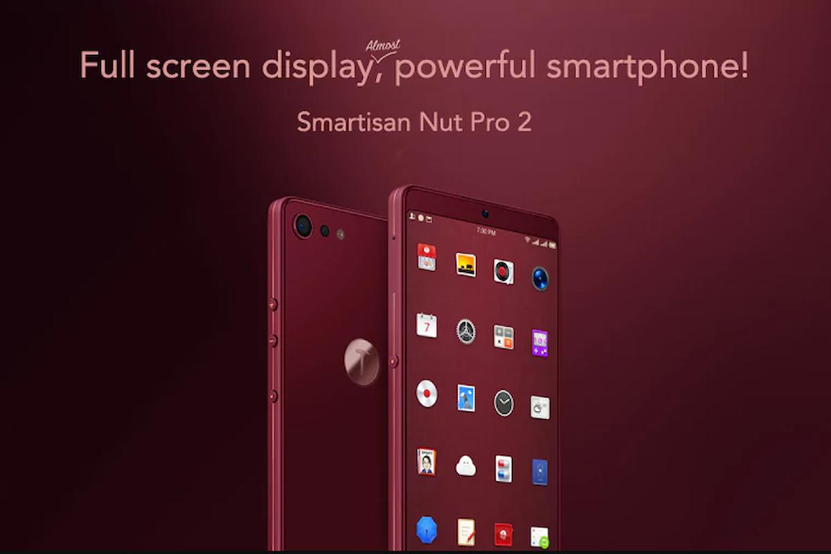 Il bellissimo (e potente) Smartisan Nut Pro 2