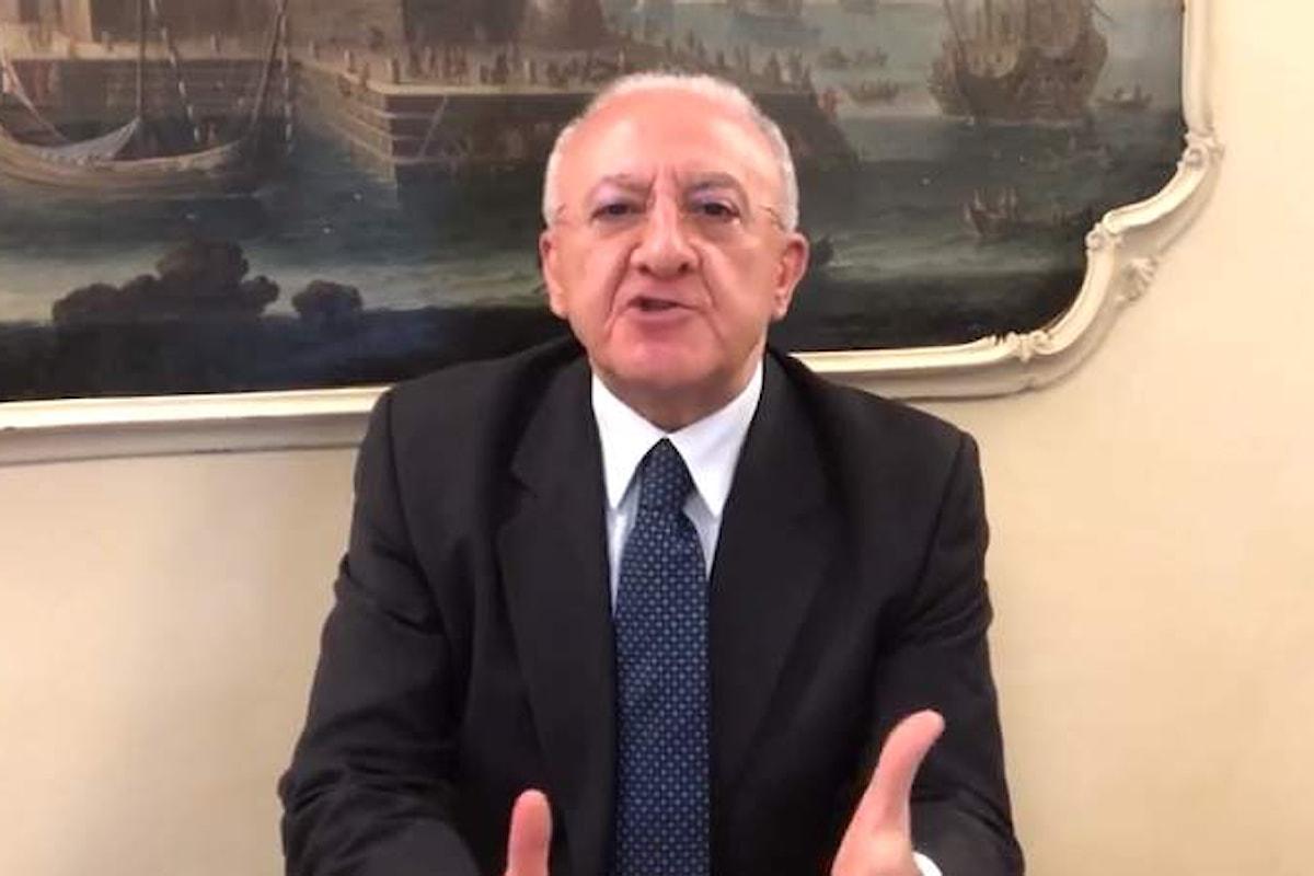 Aggressione mediatica pseudogiornalistica, Vincenzo De Luca contro tutti in un post su facebook