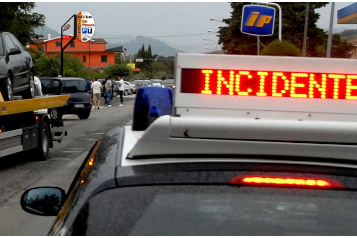 Incidente stradale nel salernitano: morto 74enne