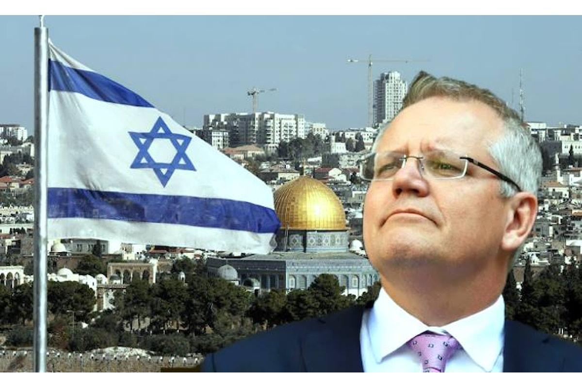 L'inutile annuncio dell'Australia di riconoscere Gerusalemme Ovest come capitale di Israele
