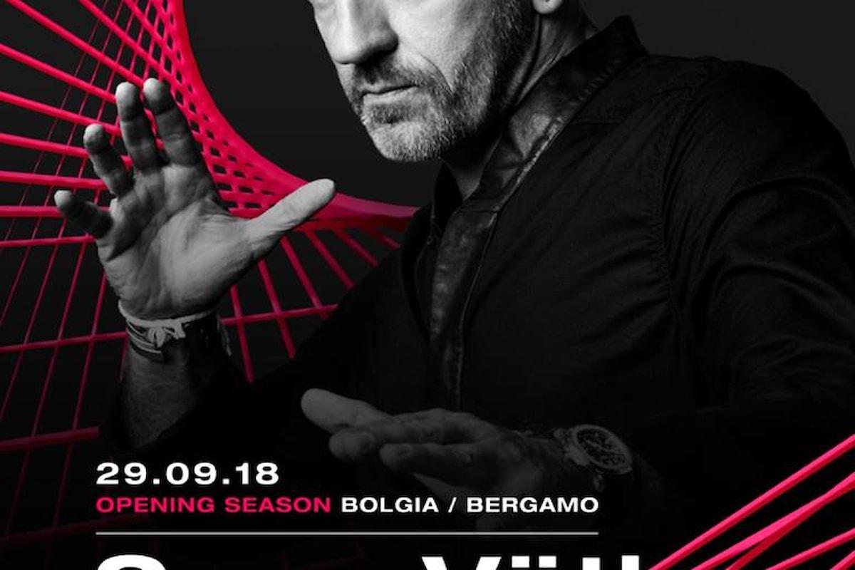 29 settembre '18, il top dj tedesco Sven Väth fa ballare il Bolgia di Bergamo