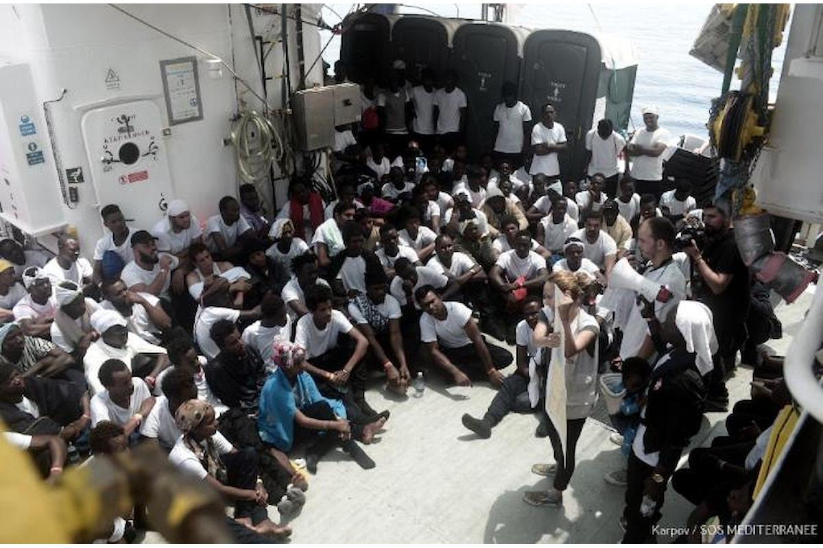 Definite le modalità per far arrivare a Valencia i migranti sulla nave Aquarius