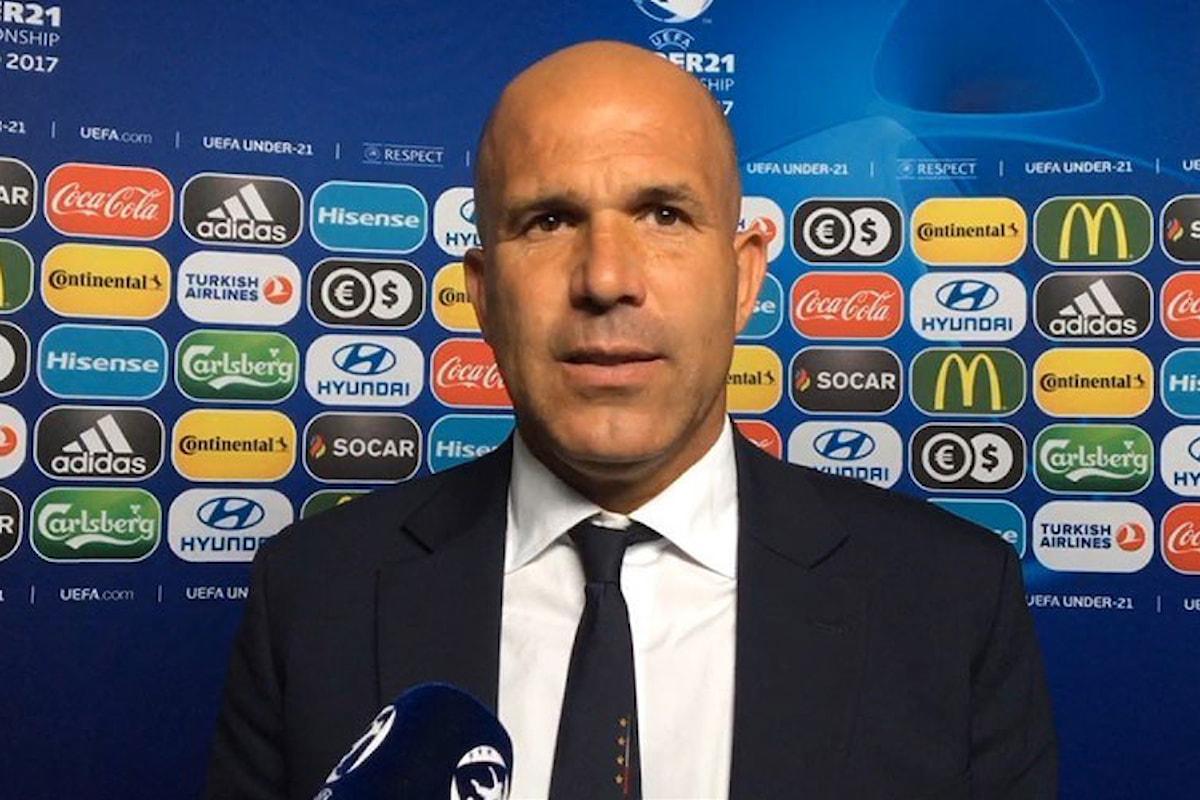 Il ct dell'Italia under 21 Di Biagio spiega: Turnover obbligatorio, dobbiamo vincere