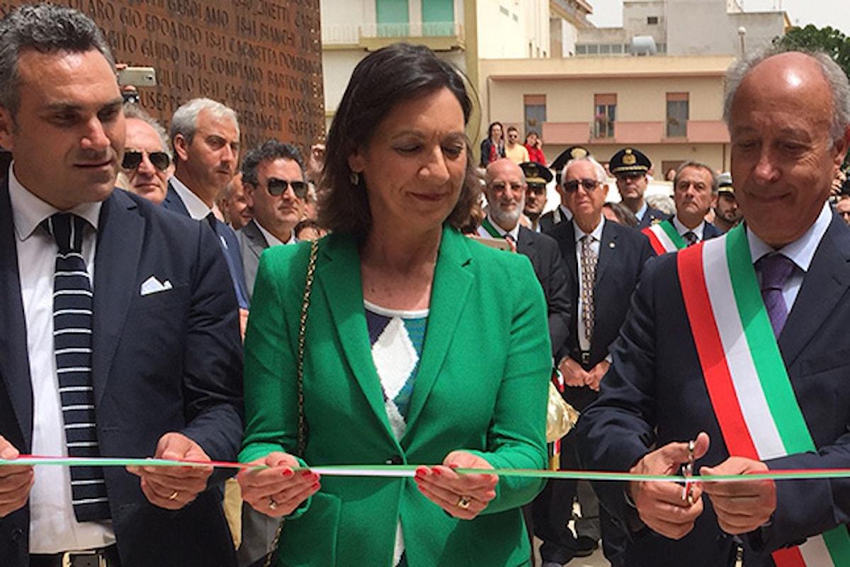 Inaugurato a Marsala il monumento in onore dei mille di Garibaldi