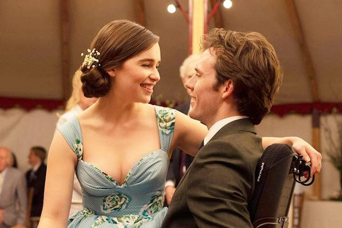 Film: Io prima di te. Una love story che affronta con simpatia un tema delicato