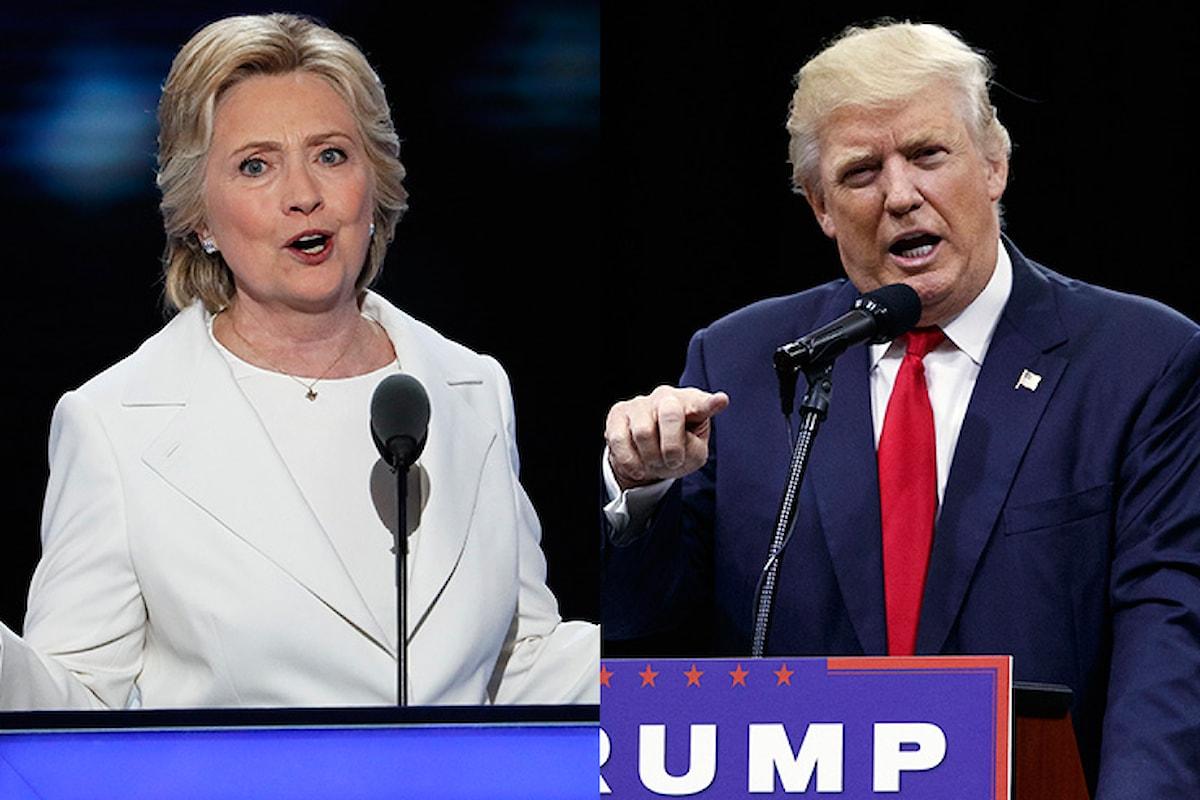 Settimana di fuoco fra Clinton e Trump. Hillary è una dal grilletto facile