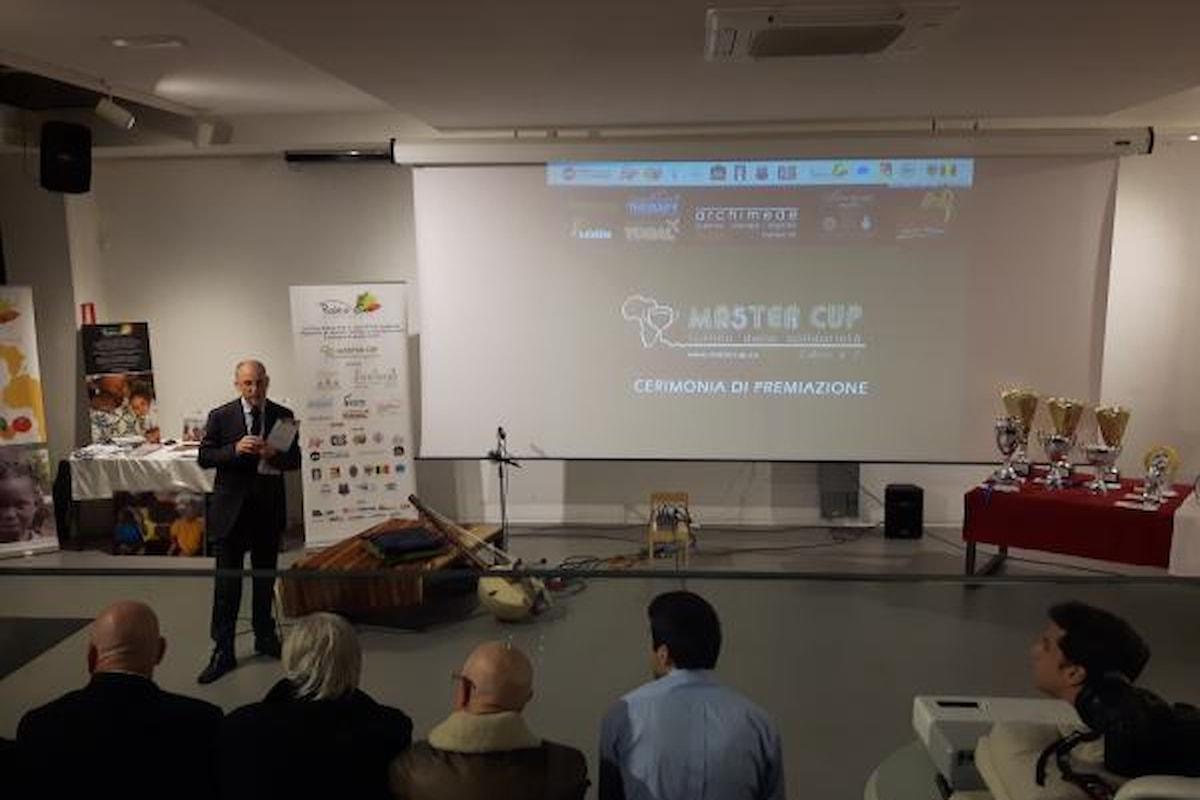 A Catania la premiazione del torneo Master Cup, presente il calciatore Mbaye del Bologna