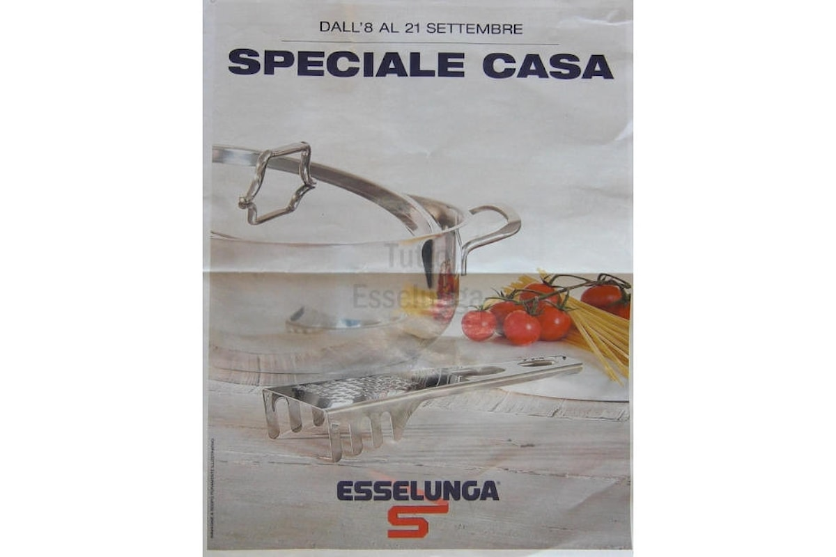 Il tuo negozio di fiducia Esselunga partecipa alla promozione Speciale casa?