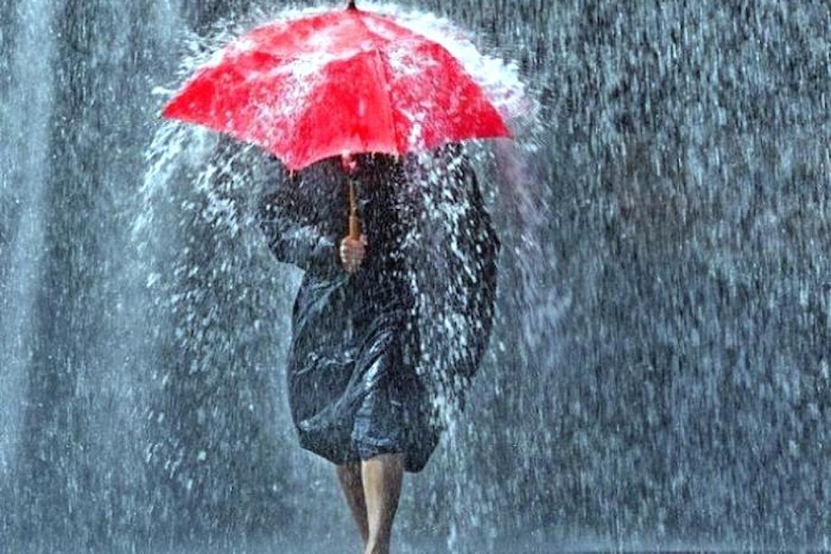 Nel fine settimana torna la pioggia su gran parte dell'Italia