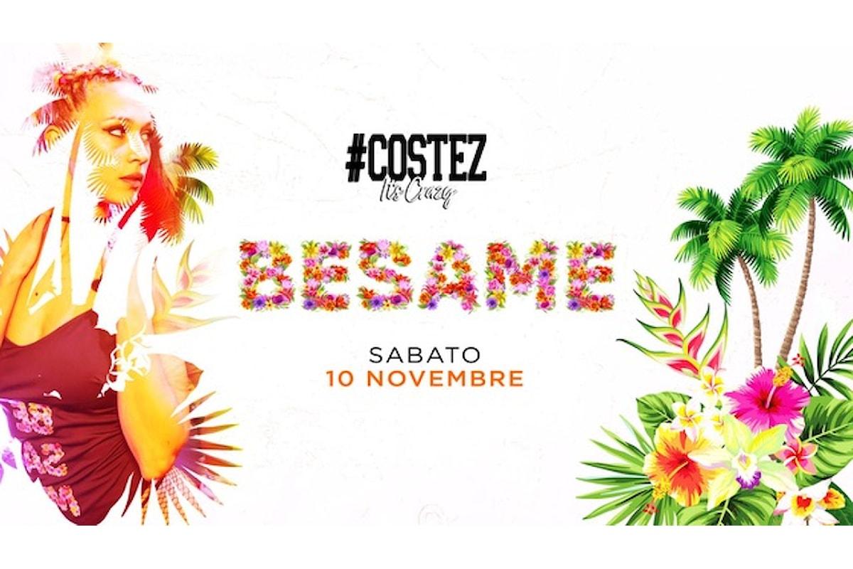 10 novembre: Besame, il party show reggaeton, electro latino & pop fa scatenare il #Costez di Telgate